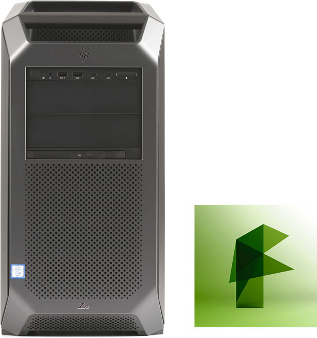 Turn Key HP Z8 G4 Workstation for Autodesk Flame